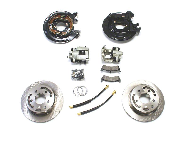 Teraflex Rear Disc Brake Conversion Kit (87-90 Jeep Wrangler YJ)