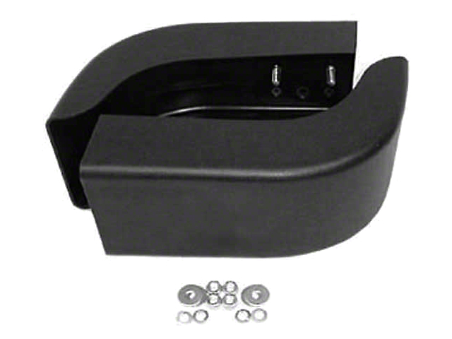 Front Bumper Extension; Pair (87-95 Jeep Wrangler YJ)
