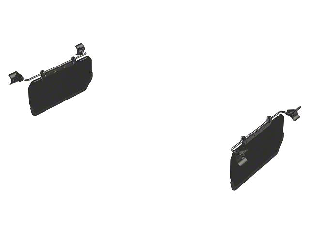 Teraflex Axis Side Visor Kit (07-18 Jeep Wrangler JK)