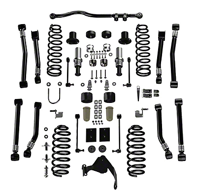Teraflex 3 in. Outback Suspension Lift Kit - Right Hand Drive (07-18 Jeep Wrangler JK 2 Door)