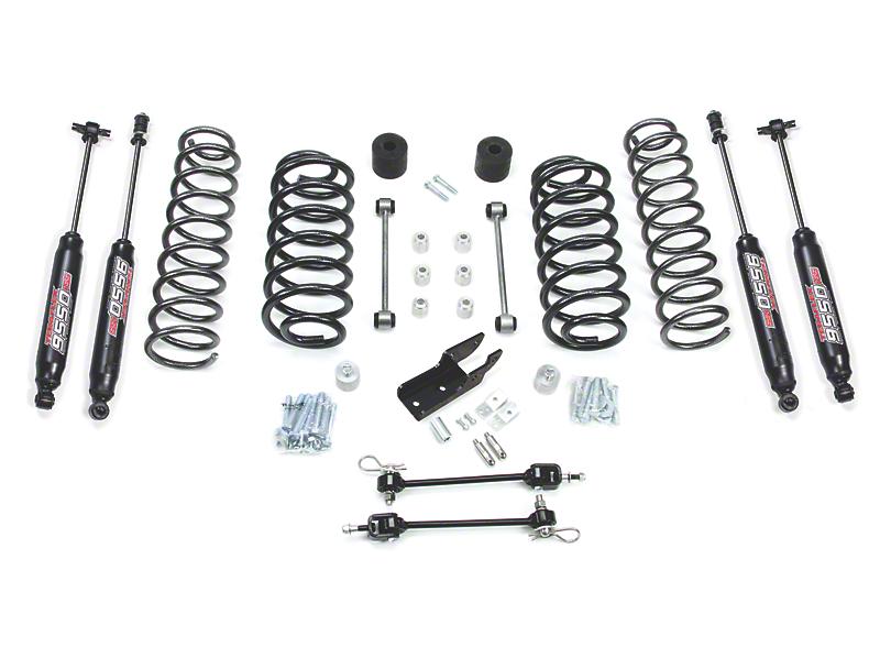 Teraflex 3-Inch Lift Kit with 9550 Shocks; Right Hand Drive (97-06 Jeep Wrangler TJ)