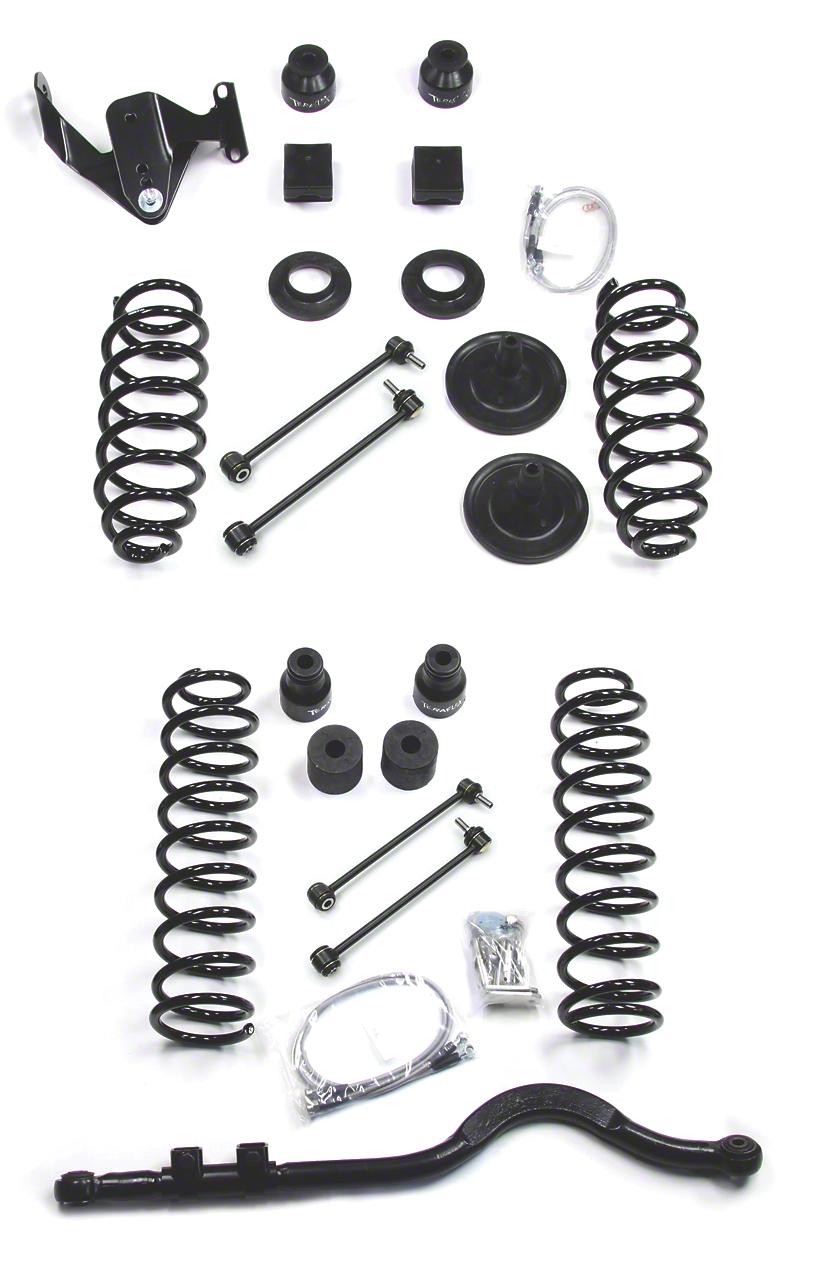 Teraflex 4 in. Lift Kit - Right Hand Drive (07-18 Jeep Wrangler JK 2 Door)