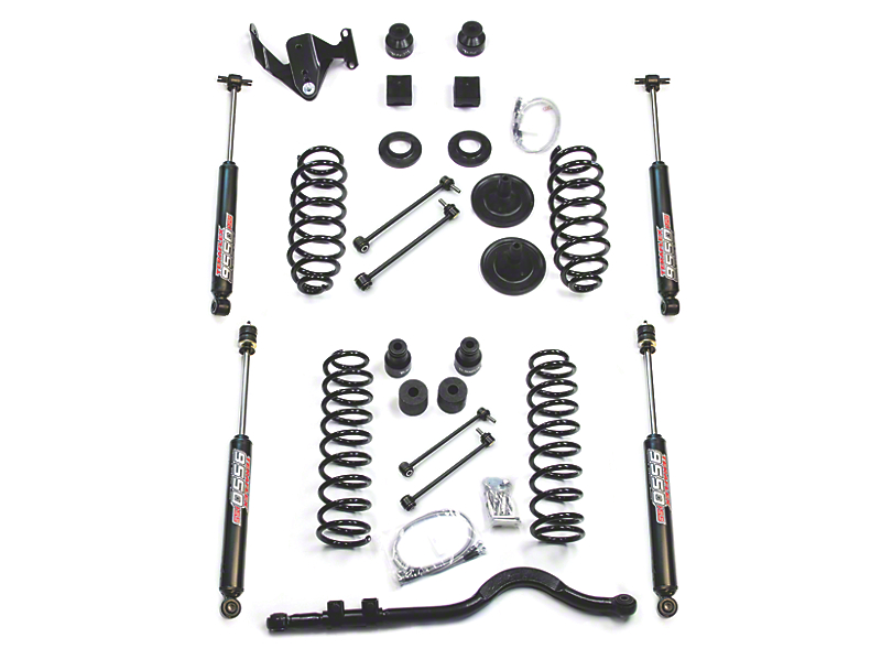Teraflex 4 Inch Lift Kit w/ 9550 Shocks & Track Bar; Right Hand Drive (07-18 Jeep Wrangler JK 4 Door)