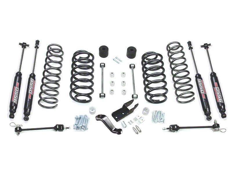 Teraflex 4-Inch Lift Kit with 9550 Shocks; Right Hand Drive (97-06 Jeep Wrangler TJ)