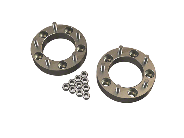 Teraflex 1.25 in. Wheel Offset Adapters - 5x5.5 in. to 5x5.5 in. (97-18 Jeep Wrangler TJ & JK)