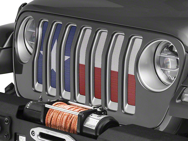 Under the Sun Grille Insert; Always Bigger (18-20 Jeep Wrangler JL)