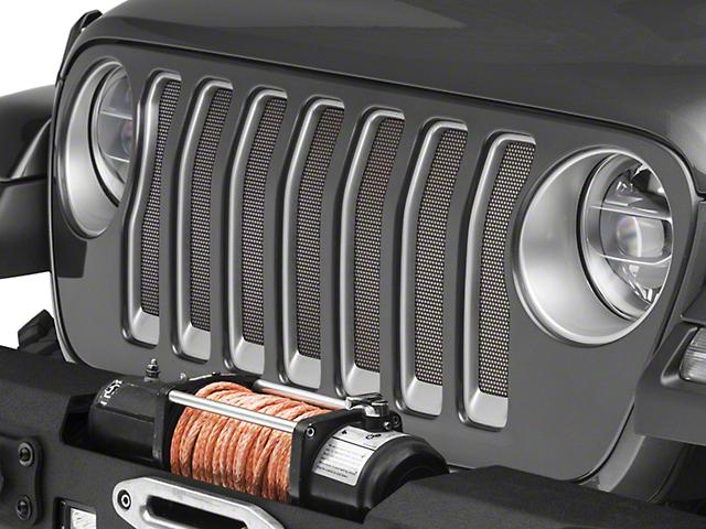 Under the Sun Grille Insert; Black (20-21 Jeep Gladiator JT)
