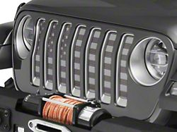 Under the Sun Grille Insert; Black Out (20-22 Jeep Gladiator JT)