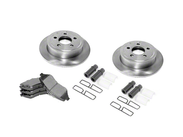 Brake Rebuild Kit; Kit (87-89 Jeep Wrangler YJ)
