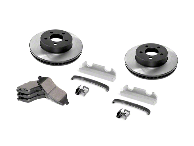 Brake Rebuild Kit; Kit (90-99 Jeep Wrangler YJ & TJ)
