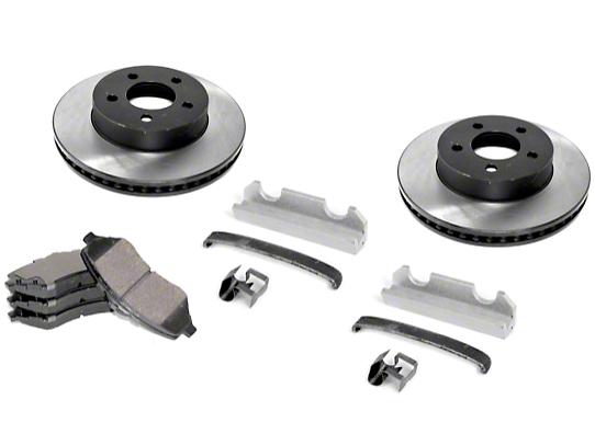 Omix-ADA Front Disc Brake Service Kit (90-99 Wrangler YJ & TJ)