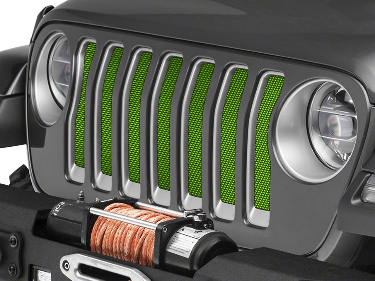 Under the Sun Grille Insert - Gecko (2018 Jeep Wrangler JL)