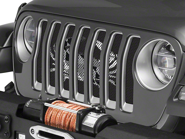 Under the Sun Grille Insert; Maryland Crab BO (20-21 Jeep Gladiator JT)