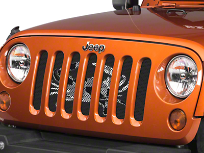 Under the Sun Grille Insert - Maryland Crab BO (07-18 Jeep Wrangler JK)