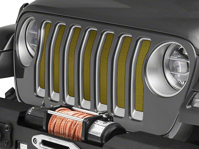 Under The Sun Jeep Wrangler Grille Insert Rescue Green Metallic