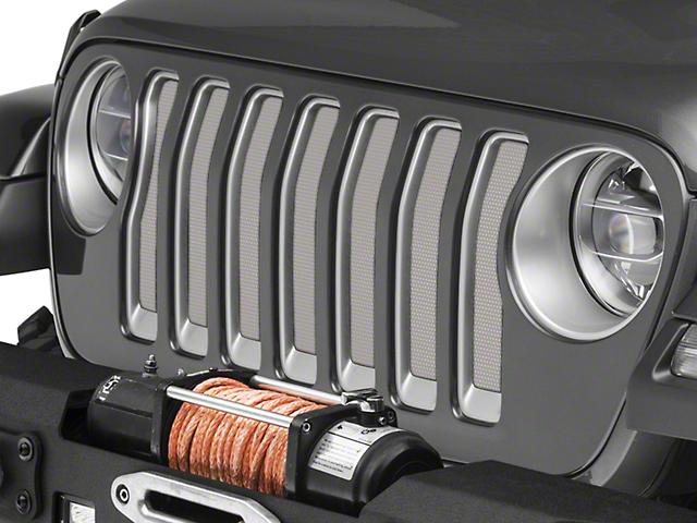 Under the Sun Grille Insert; White (20-21 Jeep Gladiator JT)