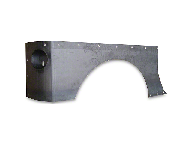 Hauk Off-Road Full Corners - Bare Steel (07-18 Jeep Wrangler JK 2 Door)