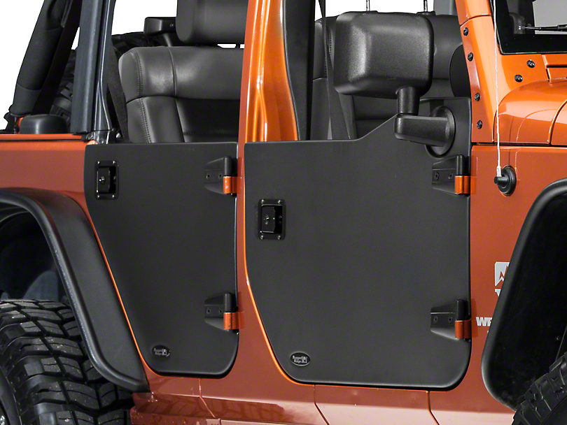 Rugged Ridge Front Half Door - Pair (07-17 Wrangler JK) & Rugged Ridge Wrangler Front Half Door - Pair 11509.01 (07-17 ... Pezcame.Com
