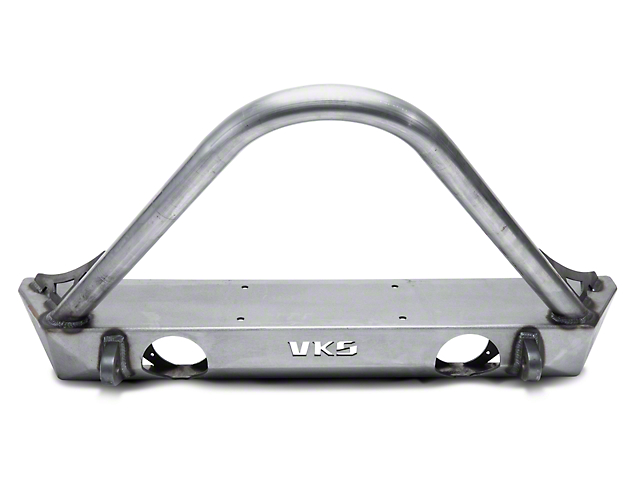 VKS Fabrication Shorty V2 Front Winch Bumper w/ Stinger (07-18 Jeep Wrangler JK)