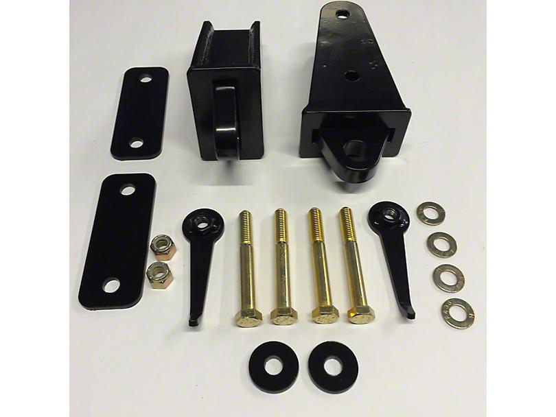 VKS Fabrication Rear Bolt-On D-Ring Mounts (07-18 Jeep Wrangler JK)