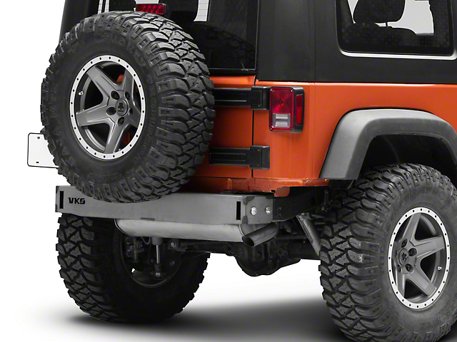 VKS Fabrication Rear Bumper Frame Cap (07-18 Jeep Wrangler JK)