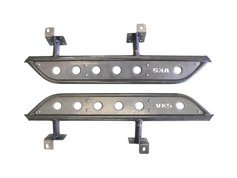 VKS Fabrication Prerunner Rock Sliders (07-18 Jeep Wrangler JK 2 Door)