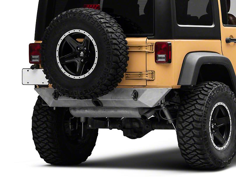 VKS Fabrication Shorty Rear Bumper (07-18 Jeep Wrangler JK)