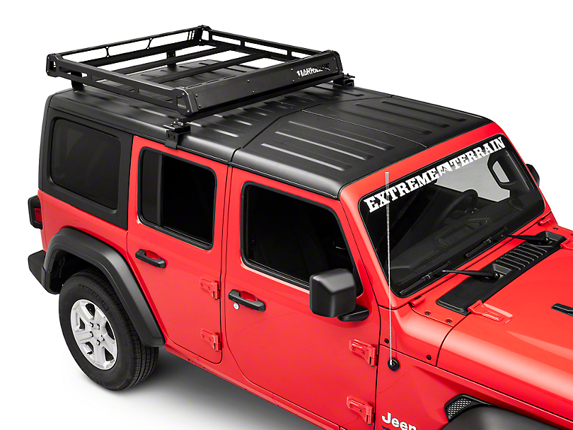 Barricade Removable Hard Top Roof Basket for OEM Hard Top (18-19 Jeep Wrangler JL 4 Door)