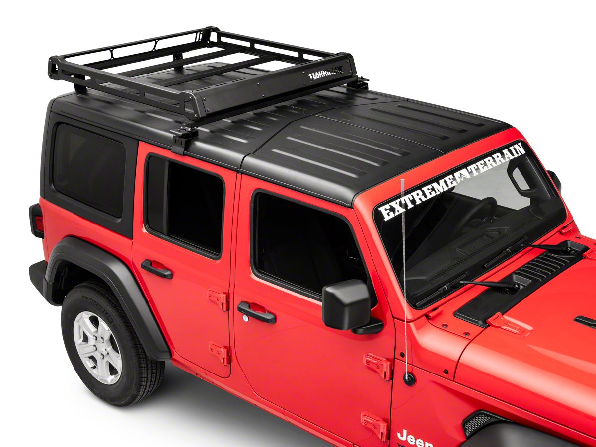 Wrangler Hard Top >> Barricade Removable Hard Top Roof Basket For Oem Hard Top 18 20 Jeep Wrangler Jl 4 Door