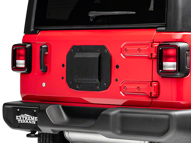 Barricade Spare Tire Delete with License Plate Mount (18-20 Jeep Wrangler JL)