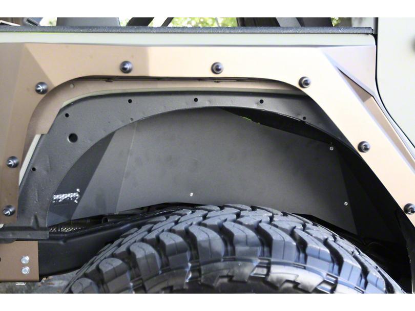 VPR 4x4 Rear Inner Fenders - Bare Metal (07-18 Jeep Wrangler JK)