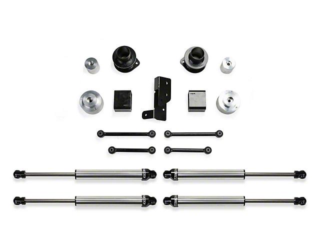 Fabtech 3 in. Spacer Suspension Lift System w/ Dirt Logic 2.25 Shocks (18-20 3.6L Jeep Wrangler JL 4 Door)