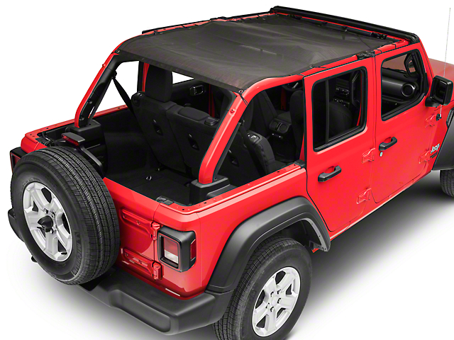 TruShield FullShade Top for Soft Tops (18-20 Jeep Wrangler JL 4 Door)