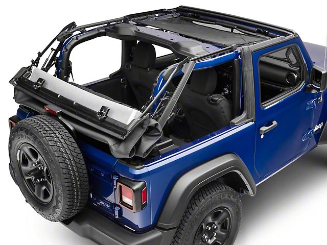 RedRock 4x4 HalfShade Top (18-20 Jeep Wrangler JL 2 Door)