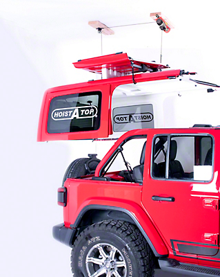 Lange Power Hoist-A-Top (2018 Jeep Wrangler JL 4 Door)