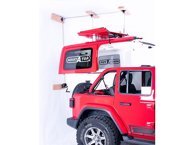 Lange Crank Hoist-A-Top (2018 Jeep Wrangler JL 4 Door)