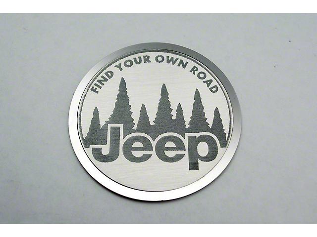 Find Your Own Trail Badges (07-18 Jeep Wrangler JK)