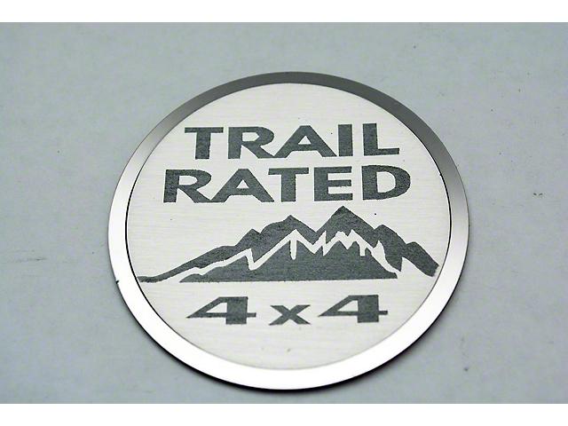 Trail Rated Badges (07-18 Jeep Wrangler JK)