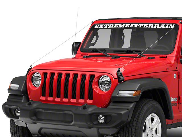Hauk Off-Road Limb Risers (18-19 Jeep Wrangler JL)