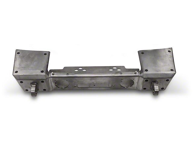 Hauk Off-Road Front Bumper - Bare Steel (18-19 Jeep Wrangler JL)