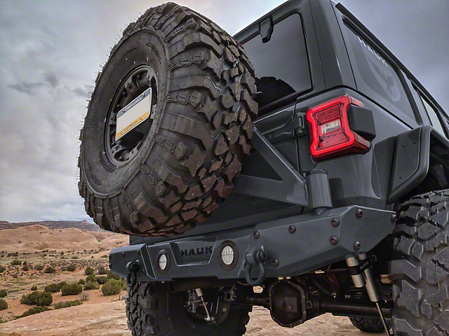 Hauk Off-Road Tire Carrier (18-20 Jeep Wrangler JL)