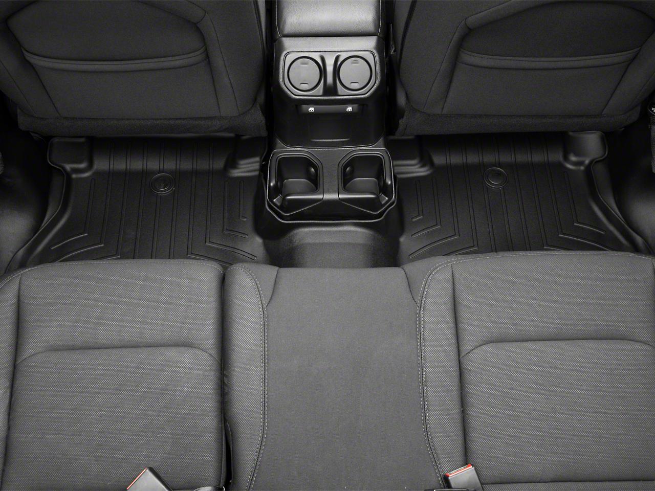 Weathertech DigitalFit Rear Floor Liners - Black (2018 Jeep Wrangler JL 4 Door)