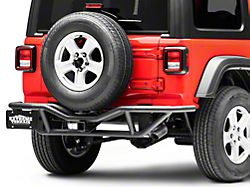 RedRock 4x4 Rock Crawler Rear Bumper - Textured Black (18-20 Jeep Wrangler JL)