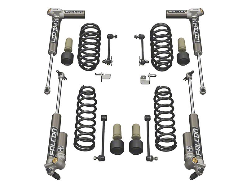 Teraflex 1.5 in. Sport S/T1 Suspension Lift Kit w/ Falcon 3.2 Shocks (07-18 Jeep Wrangler JK 2 Door)