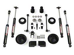 Teraflex 2.5 in. Performance Spacer Lift Kit w/ 9550 VSS Shocks (07-18 Jeep Wrangler JK)