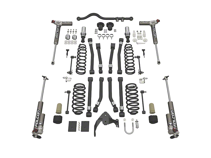 Teraflex 3 in. Alpine CT3 Suspension Lift Kit w/ Falcon 3.3 Shocks (07-18 Jeep Wrangler JK 4 Door)