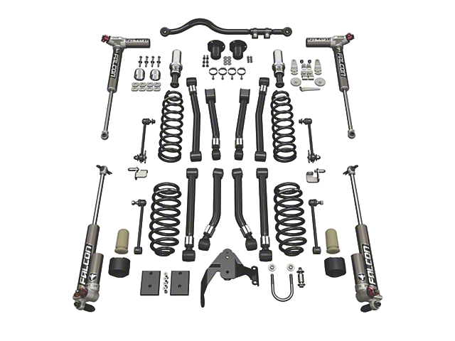 Teraflex 3 in. Alpine CT3 Suspension Lift Kit w/ Falcon 3.3 Shocks (07-18 Jeep Wrangler JK 2 Door)