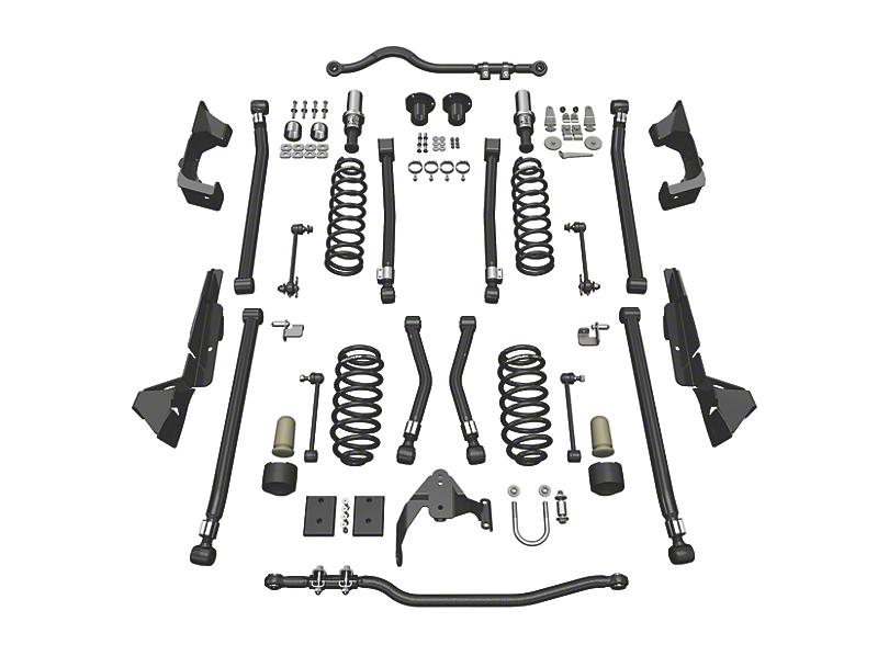 Teraflex 4 in. Alpine CT4 Suspension Lift Kit (07-18 Jeep Wrangler JK 4 Door)