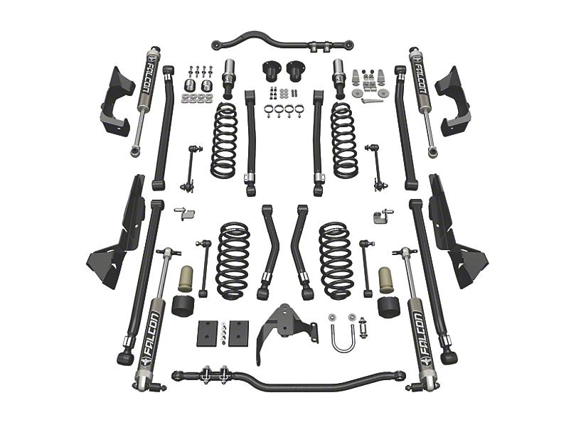 Teraflex 4 Inch Alpine CT4 Suspension Lift Kit w/ Falcon 2.1 Shocks (07-18 Jeep Wrangler JK 2 Door)