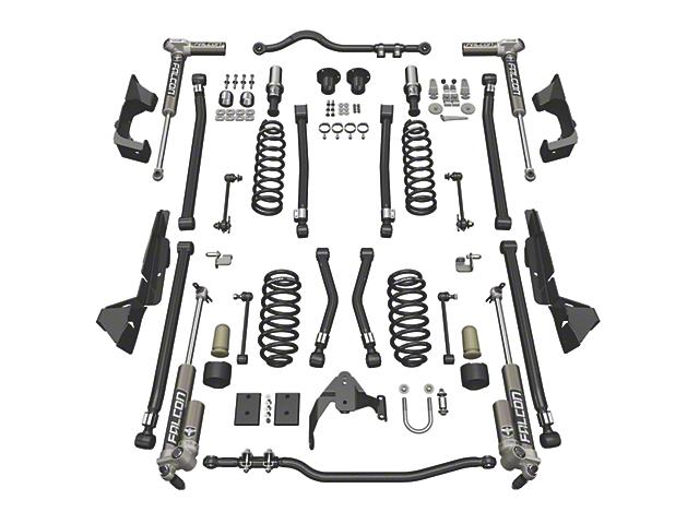 Teraflex 4 in. Alpine CT4 Suspension Lift Kit w/ Falcon 3.1 Shocks (07-18 Jeep Wrangler JK 4 Door)